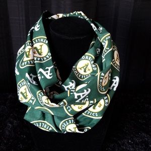 Women's Oakland Athletics A's Infinity scarf